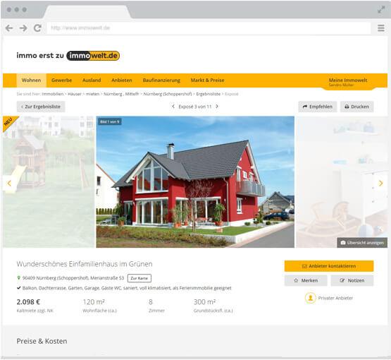 Haus Vermieten haus vermieten – hausvermietung - anzeigen bei immowelt.de